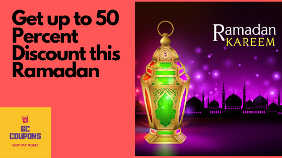 Ramadan Coupon Codes, Offers and Deals in the United Arab Emirates